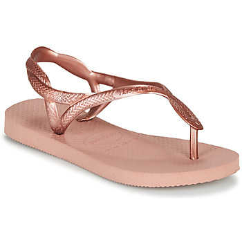 Buty Dziewczynka Japonki Havaianas LUNA MINI ME Różowy