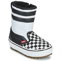 Buty Dziecko Śniegowce Vans YT SLIP-ON SNOW BOOT MTE Czarny / Biały