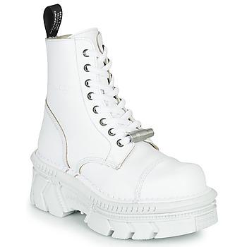 Buty Buty za kostkę New Rock M-MILI083CM-C56 Biały