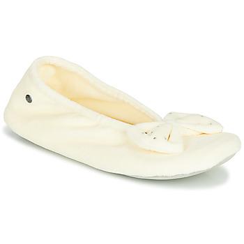 Buty Damskie Obuwie domowe Isotoner 95991 Ivory