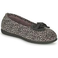 Buty Damskie Obuwie domowe Isotoner 97261 Leopard