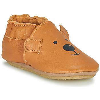 Buty Dziecko Obuwie domowe Robeez SWEETY BEAR CRP Camel