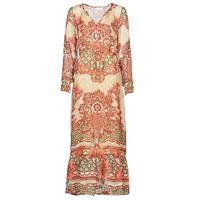 tekstylia Damskie Sukienki długie Cream SANNIE DRESS Wielokolorowe