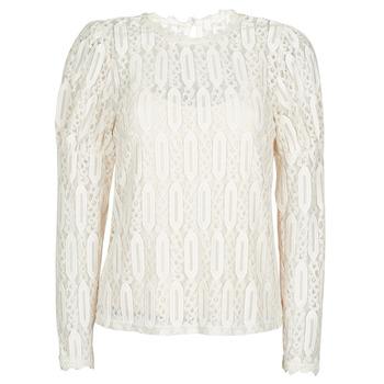 tekstylia Damskie T-shirty z krótkim rękawem Cream VIVI LS TSHIRT Beżowy