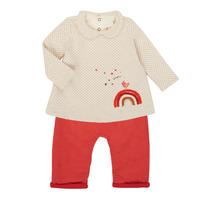 tekstylia Dziewczynka Komplet Catimini CR36031-60 Różowy