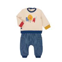 tekstylia Chłopiec Komplet Catimini CR36050-46 Wielokolorowy
