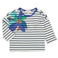 tekstylia Dziewczynka T-shirty z długim rękawem Catimini CR10123-12 Wielokolorowy