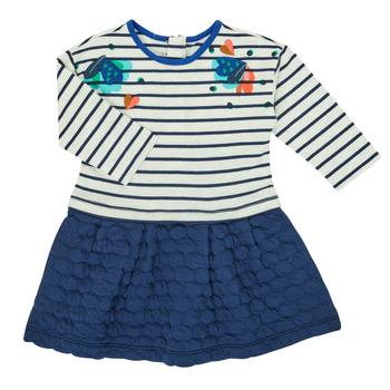tekstylia Dziewczynka Sukienki krótkie Catimini CR30133-12 Wielokolorowy