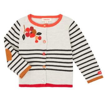 tekstylia Dziewczynka Swetry rozpinane / Kardigany Catimini CR18003-19 Wielokolorowy