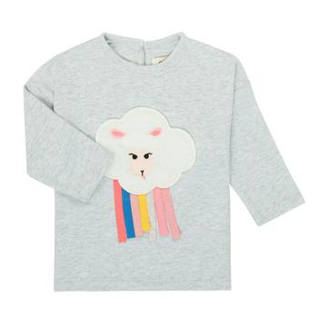 tekstylia Dziewczynka T-shirty z długim rękawem Catimini CR10093-21 Szary