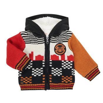 tekstylia Chłopiec Swetry rozpinane / Kardigany Catimini CR18062-17 Wielokolorowy