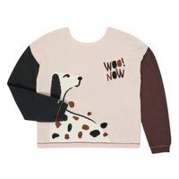 tekstylia Dziewczynka Swetry Catimini CR18115-34-J Wielokolorowy
