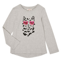 tekstylia Dziewczynka T-shirty z długim rękawem Catimini CR10275-26-J Szary