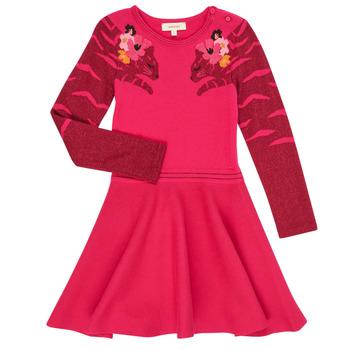 tekstylia Dziewczynka Sukienki krótkie Catimini CR30085-35 Różowy