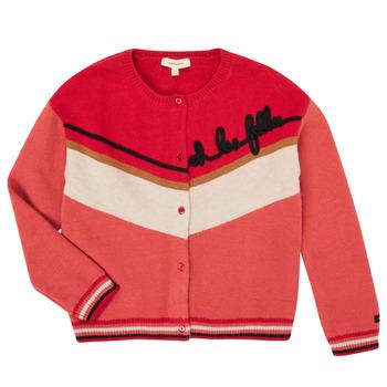 tekstylia Dziewczynka Swetry rozpinane / Kardigany Catimini CR18015-67-C Wielokolorowy