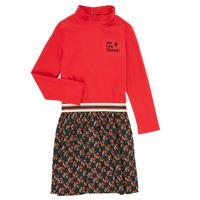 tekstylia Dziewczynka Sukienki krótkie Catimini CR30035-38-C Wielokolorowy