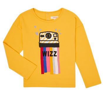 tekstylia Dziewczynka T-shirty z długim rękawem Catimini CR10135-72-C Żółty