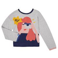 tekstylia Dziewczynka Swetry rozpinane / Kardigany Catimini CR18055-21-C Wielokolorowy