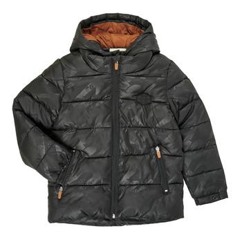 tekstylia Chłopiec Kurtki pikowane Catimini CR41034-02-C Czarny