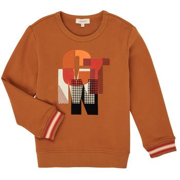 tekstylia Chłopiec Bluzy Catimini CR15024-63-C Brązowy
