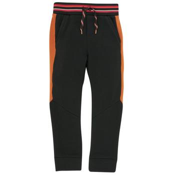 tekstylia Chłopiec Spodnie dresowe Catimini CR23004-02-C Czarny