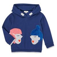 tekstylia Dziewczynka Bluzy Catimini CR15065-46-J Niebieski