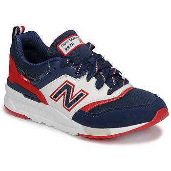 Buty Chłopiec Trampki niskie New Balance 997 Niebieski / Biały / Czerwony