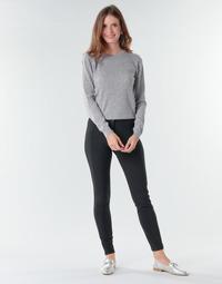 tekstylia Damskie Spodnie z lejącej tkaniny / Alladynki Benetton 4SK755944 Czarny