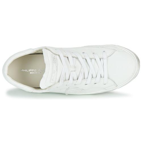 Philippe Model Paris X Basic Biały - Bezpłatna Dostawa- Buty Trampki Niskie Damskie 1 29900 Najniższa Cena