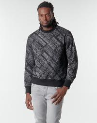tekstylia Męskie Bluzy Versace Jeans Couture B7GZB7F5 Czarny