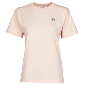 tekstylia Damskie T-shirty z krótkim rękawem Fila 682319 Różowy