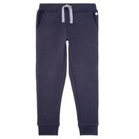 tekstylia Chłopiec Spodnie dresowe Petit Bateau LOMINIKO Marine
