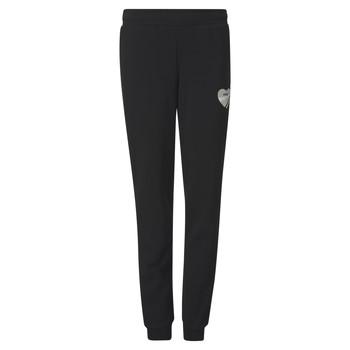 tekstylia Dziewczynka Spodnie dresowe Puma ALPHA SWEAT PANT Czarny