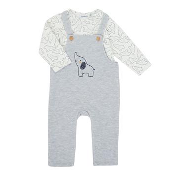 tekstylia Chłopiec Komplet Noukie's Z050372 Szary