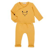 tekstylia Dziewczynka Komplet Noukie's Z050377 Żółty