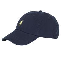 Dodatki Męskie Czapki z daszkiem Polo Ralph Lauren COTTON CHINO SPORT CAP Marine