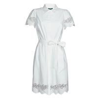 tekstylia Damskie Sukienki krótkie Lauren Ralph Lauren DORTHIA Biały