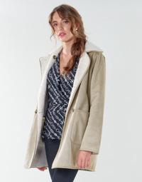 tekstylia Damskie Płaszcze Lauren Ralph Lauren RVRSBL FXSH-COAT Camel