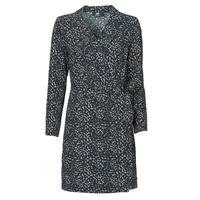tekstylia Damskie Sukienki krótkie Le Temps des Cerises LEANE Niebieski