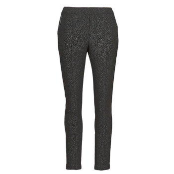 tekstylia Damskie Spodnie z pięcioma kieszeniami Le Temps des Cerises BIEBER Czarny