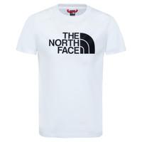 tekstylia Dziecko T-shirty z krótkim rękawem The North Face EASY TEE Biały
