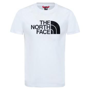tekstylia Chłopiec T-shirty z krótkim rękawem The North Face EASY TEE Biały