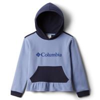 tekstylia Dziewczynka Bluzy Columbia COLUMBIA PARK HOODIE Niebieski