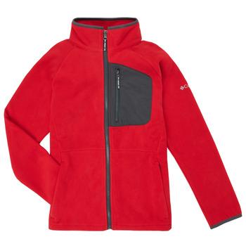 tekstylia Chłopiec Polary Columbia FAST TREK Czerwony