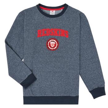 tekstylia Chłopiec Bluzy Redskins SW-H20-04-NAVY Marine