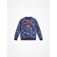 tekstylia Chłopiec Bluzy Guess L0YQ01-K82T0-PC74 Niebieski