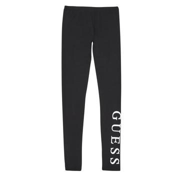 tekstylia Dziewczynka Legginsy Guess J94B16-K82K0-JBLK Czarny
