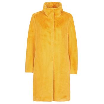 tekstylia Damskie Płaszcze S.Oliver 05-009-52 Żółty