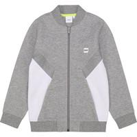 tekstylia Chłopiec Bluzy BOSS J25G80 Szary