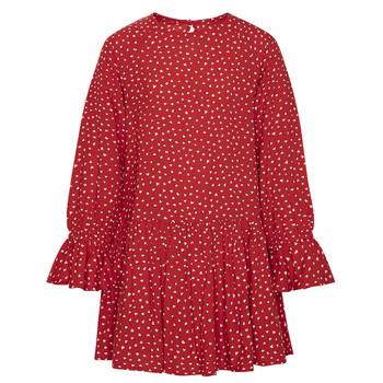 tekstylia Dziewczynka Sukienki krótkie Pepe jeans CATY Czerwony